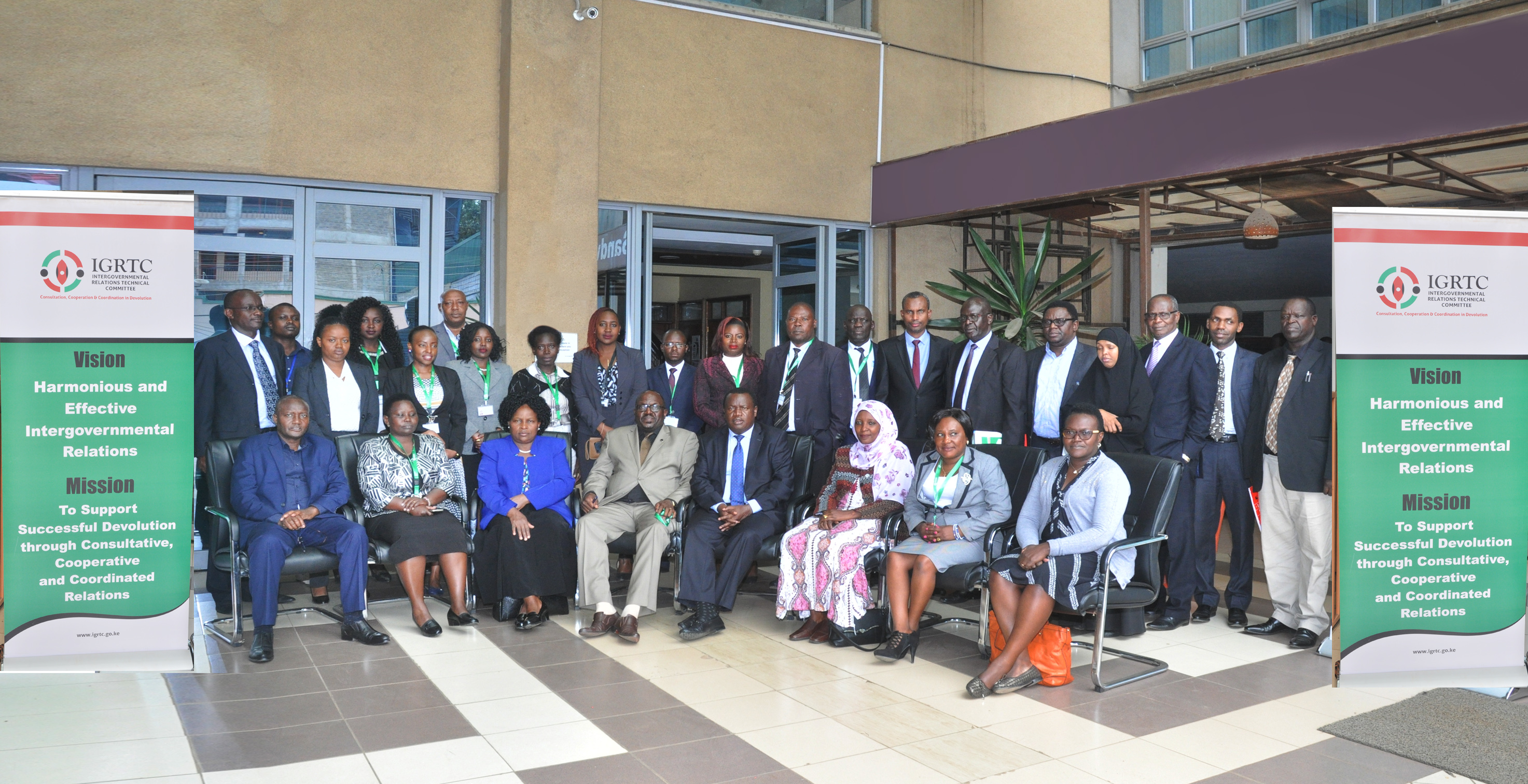 IGRTC Consultative meeting with  P.S., State Department of Devolution,