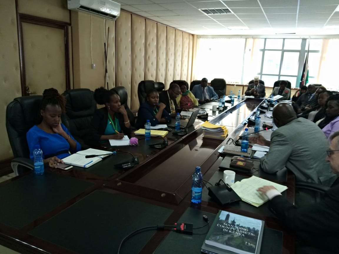 consultative meeting between IGRTC and world bank held at Parklands Plaza.