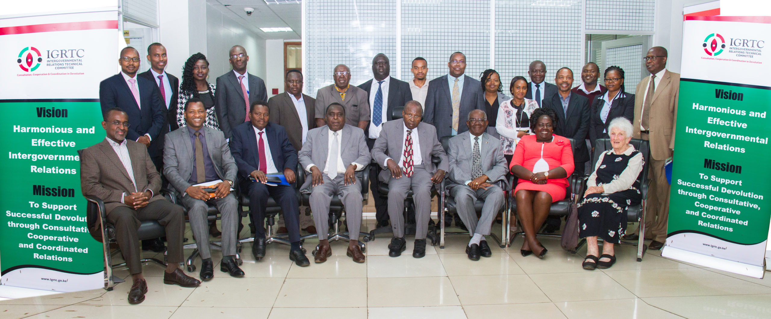 Consultative meeting on unbundling and transfer of museums functions held between IGRTC members and the Board of National Museums of Kenya on 2nd March 2020.