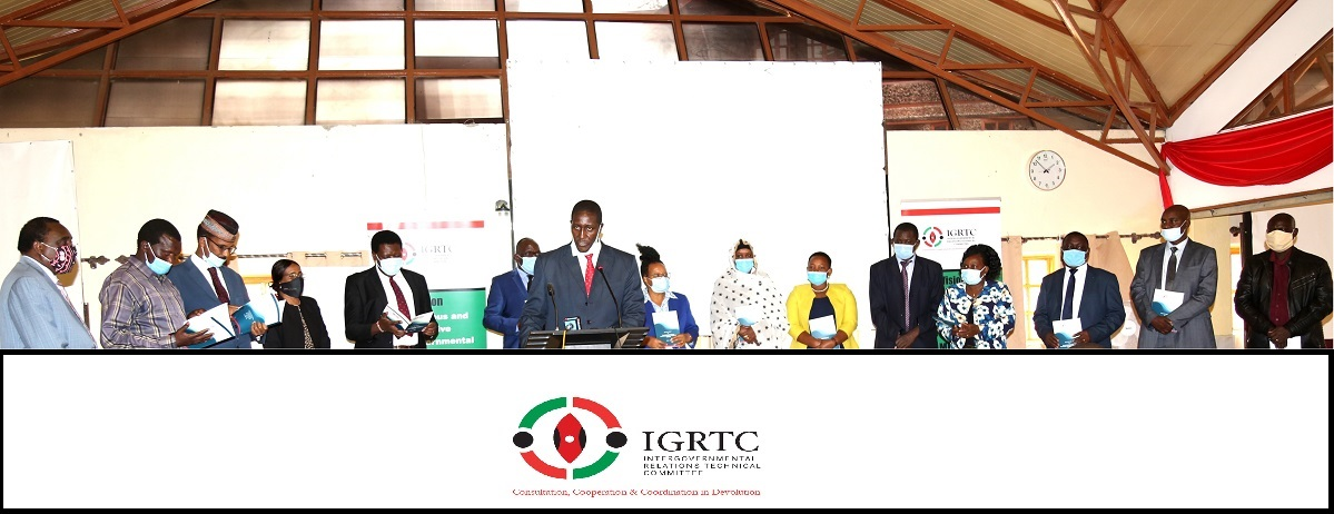 Official handing over ceremony by 1st  IGRTC team members to the new members