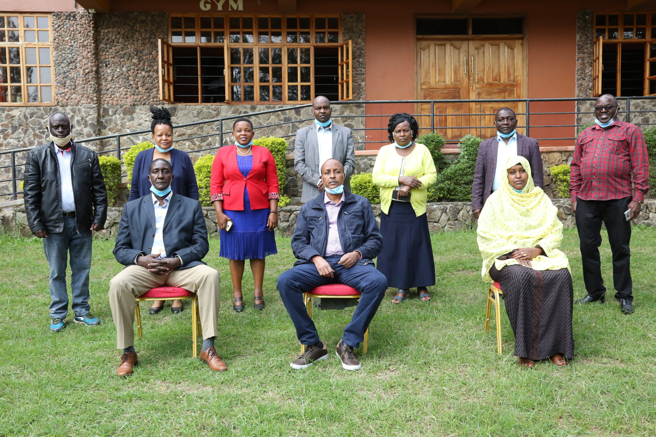 Incoming IGRTC members with CAS State Department of Devolution