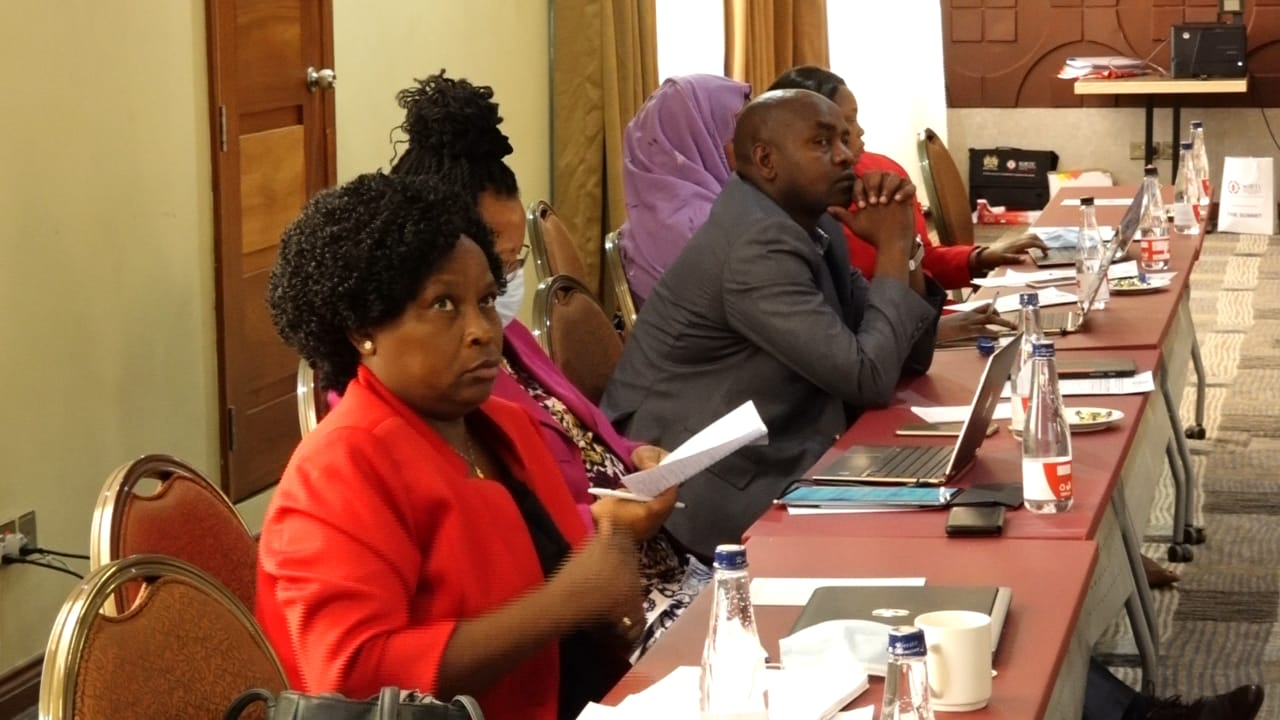 IGRTC Members during the strategic planning workshop in Naivasha.